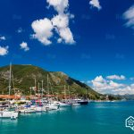 Lefkada-island-Harbor-of-nidri