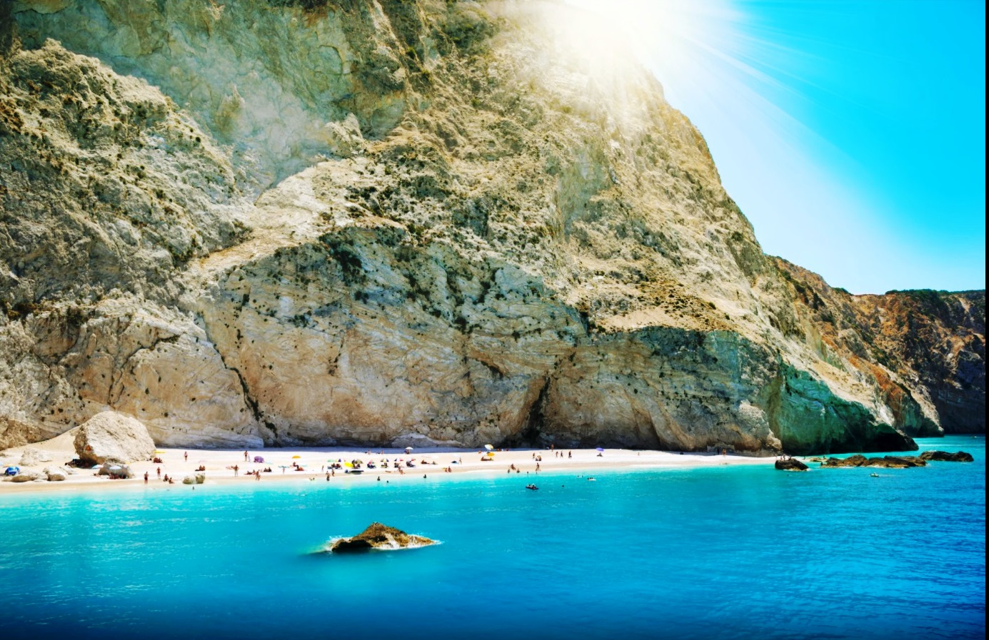 milos beach lefkada2